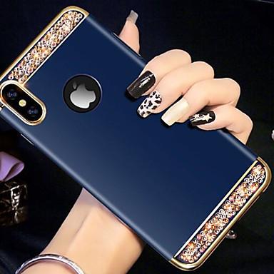 Etui Käyttötarkoitus Apple iPhone XS / iPhone XR / iPhone XS Max Paljetti Takakuori Tekojalokivi Kova Akryyli