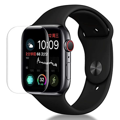 Screen Protector Pro Apple Watch Series 4 PET High Definition (HD) / Ultra tenké 5 ks
