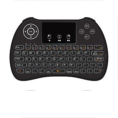 Entusiasta H9b Air Mouse - Tastiera - Telecomando Mini Wireless A 2,4 Ghz Senza Fili Air Mouse - Tastiera - Telecomando Per Linux - Ios - Android #07165375 Le Merci Di Ogni Descrizione Sono Disponibili