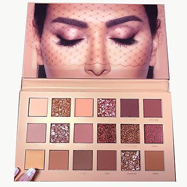 Make-up For You 18 farver Øjenskygger Øjne / Øjenskygge Indeholder ikke formaldehyd / Indeholder ikke parabener / Ungdom Naturlig Åndbarhed Sikkerhed Daglig makeup / Festmakeup / Femakeup Makeup