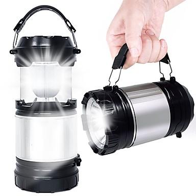 billige Utendørsbelysning-1pc 5 W Vanntett Hvit 1.5 V Utendørsbelysning 6 LED perler