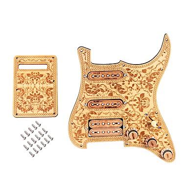 Profesjonell Gitar tilbehør / Elektrisk gitar tilbehør SSH05 Gitar / Elektrisk Gitar Tre Musikk Instrument tilbehør 28.3*22.5*2.3 cm