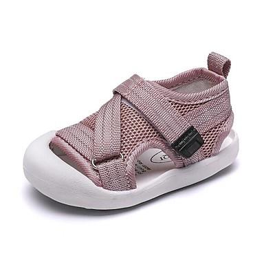 Poikien Silmukka Sandaalit Vauvoilla (0-9m) / Taapero (9m-4ys) Comfort / Ensikengät Musta / Harmaa / Pinkki Kesä