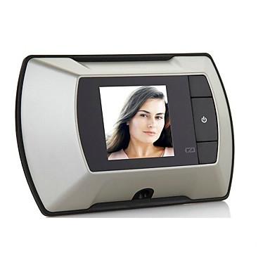 baratos Segurança-cor sem fio 2.4 polegadas digital vcolorisual um a um sistema de campainha de vídeo porteiro