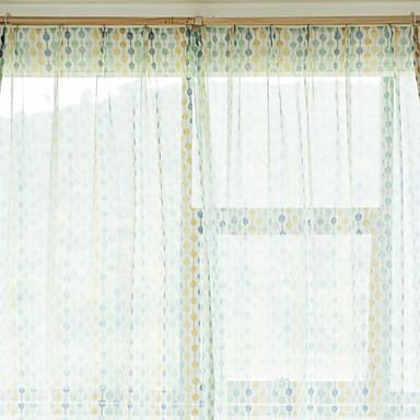 Nykyaikainen Valo-suodatus One Panel Sheer Olohuone   Curtains