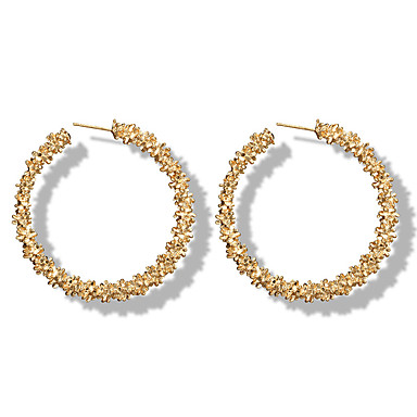 e3920454b484e Women's Hoop Earrings Machete Earrings Jewelry Gold / Silver For ...