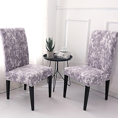 Chair Cover Contemporary Printed Polyester Slipcovers