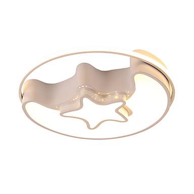Appliques Da Soffitto Metallo 110-120v - 220-240v Bianca - Dimmerabile Con Telecomando - Bianco Caldo + Bianco #07150342