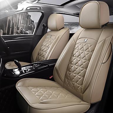 voordelige Auto-interieur accessoires-chelaiyi Auto-stoelkussens Zitkussens Beige / Koffie / Zwart / Rood Imitatieleer Standaard Voor Universeel Alle jaren Alle Modellen