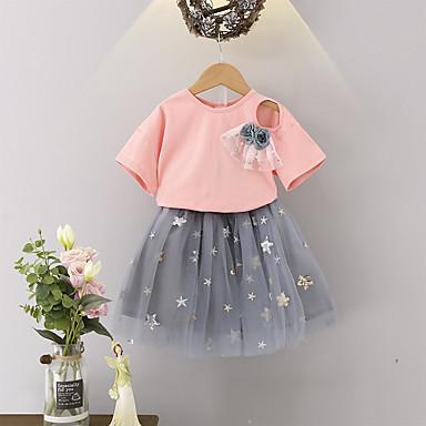 d9b3680aa9806 cheap Girls' Clothing-Kids Toddler Girls' Basic Boho Print