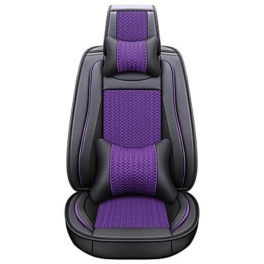 voordelige Auto-interieur accessoires-zakelijke voor achter universele universele stoelhoezen hoofdsteun & taillekussen kits luxe voertuigen accessoires voor universeel / polyester / kunstleer / katoen bedrijf