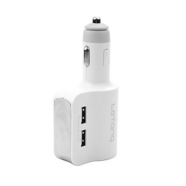 voordelige Automatisch Electronica-letang autolader sigarettenaansteker 3 usb-poorten 3.1a met intelligente bescherming geschikt voor auto, SUV, vrachtwagen