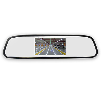 btutz LCD 4.3 inch LED 380TVL 848 x 480 1/4 tuuman teräväpiirtoinen CMOS-väri Johto 150 astetta 4.3 inch Peruutuskamera / Auton peruuttamaton näyttö LCD-näyttö / Monitoiminen näyttö varten Auto
