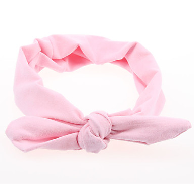 cheap Kids' Accessories-Toddler Girls' Basic / Sweet Solid Colored Print Acrylic Hair Accessories Pink / Yellow / Fuchsia One-Size