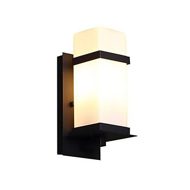 billige Utendørsbelysning-1pc 5 W Utendørs Vegglamper Vanntett Varm hvit 85-265 V Utendørsbelysning 1 LED perler