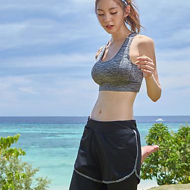 Naisten Skin-tyyppinen märkäpuku Sukelluspuvut UV-aurinkosuojaus Nopea kuivuminen Full Body Etuvetoketju - Uinti Sukellus Lainelautailu Yhtenäinen Syksy Kevät Kesä / Mikrojoustava