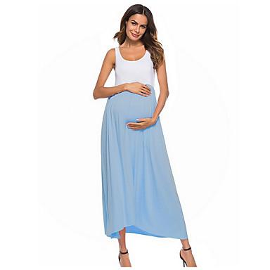 2dfa6379cbea Per donna Essenziale Fodero Vestito Tinta unita Maxi.  33.02. USD  21.94 ·  economico Abbigliamento premaman-Per ...