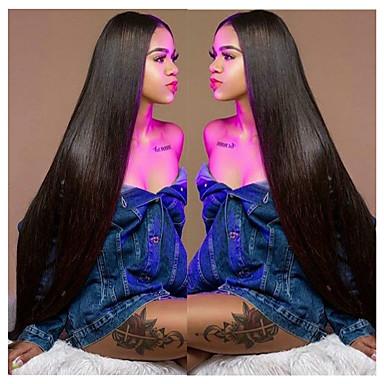 voordelige Weaves van echt haar-6 bundels Maleisisch haar Recht Mensen Remy Haar Menselijk haar weeft Bundle Hair Een Pack Solution 8-28inch Natuurlijke Kleur Menselijk haar weeft Pasgeboren Waterherfst Schattig Extensions van echt