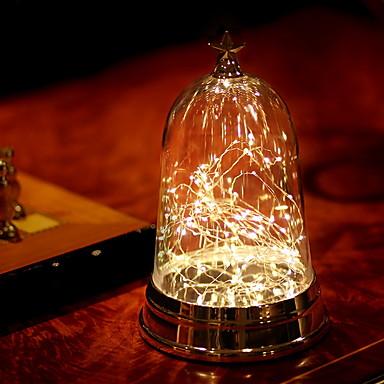 1kpl LED Night Light Lämmin valkoinen USB Luova <=36 V