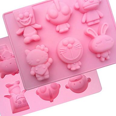 1kpl Silikoni For Keittoastiat jälkiruoka Työkalut Bakeware-työkalut