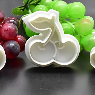 1kpl Muovi Creative Kitchen Gadget Uutuusvälineet keittiöön jälkiruoka Työkalut Bakeware-työkalut