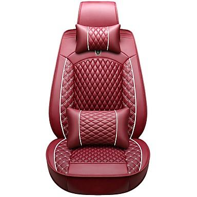 voordelige Auto-interieur accessoires-zakelijke voor achter universele auto stoelhoezen hoofdsteun & taillekussen kits luxe voertuigen accessoires voor universeel / polyester