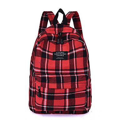 abordables Sacs-Polyester Fermeture Sac d'Ecole Ecole Blanche / Rouge / Jaune