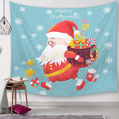 Christmas Wall Decor Polyesteri Moderni Wall Art, Seinävaatteet Koriste