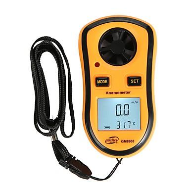 voordelige Test-, meet- & inspectieapparatuur-benetech gm8908 digitale anemometer 0-30 m / s handheld windsnelheid meter luchtsnelheid temperatuurmeting