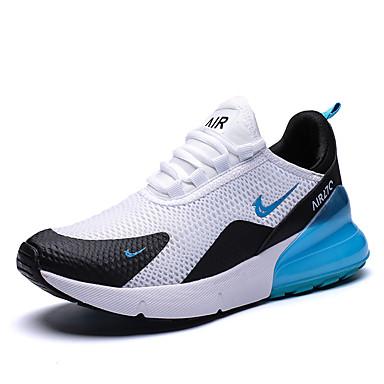 Χαμηλού Κόστους Πρώτα στις Πωλήσεις-Ανδρικά Παπούτσια άνεσης Φο Δέρμα Ανοιξη καλοκαίρι Αθλητικό / Κολεγιακό Αθλητικά Παπούτσια Τρέξιμο / Περπάτημα Αναπνέει Κόκκινο / Μαύρο / Άσπρο / Μαύρο / Κόκκινο