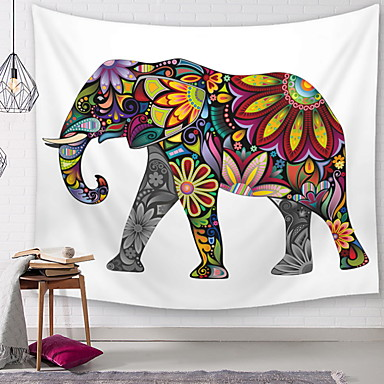 Satu-teema Wall Decor Polyesteri Nykyaikainen Wall Art, Seinävaatteet Koriste