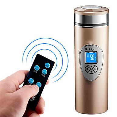 voordelige Automatisch Electronica-auto elektrische waterkoker geluidsarme onderpan verwarming roestvrijstalen vacuümbeker 12/24/220 v