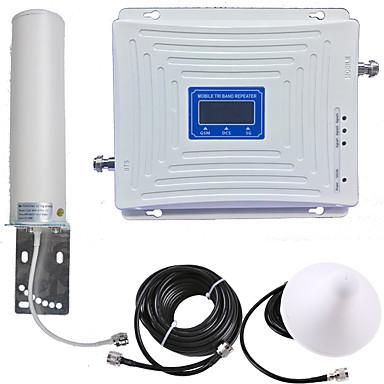 billiga Säkerhet och skydd-2g / 3g / 4g mobil signal repeater signalförstärkare signal booster 900/1800/2100 dual band gsm / dcs / wcdma