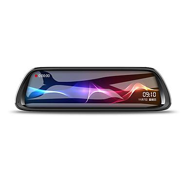 billige Bil-DVR-K62 1080p HD Bil DVR 170 grader Bred vinkel CMOS 10 tommers IPS Dash Cam med Night Vision / G-Sensor / Parkeringsmodus Bilopptaker