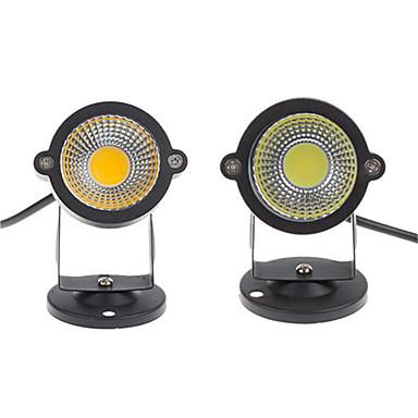 billige Utendørsbelysning-2pcs 5 W plen Lights Vanntett / Dekorativ Varm hvit / Kjølig hvit / Rød 12 V / 85-265 V Utendørsbelysning / Courtyard / Have 1 LED perler