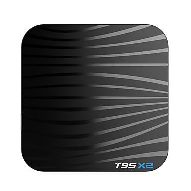 ieftine Cutii TV-T95 X2 Android 8.0 Amlogic S905X2 4GB 64GB Miez cvadruplu