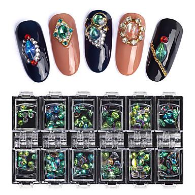 1 Pcs Migliore Qualità Strass Strass Per Unghia Della Mano Fashion Creativo Manicure Manicure Pedicure Quotidiano Alla Moda - Colorato #07323157