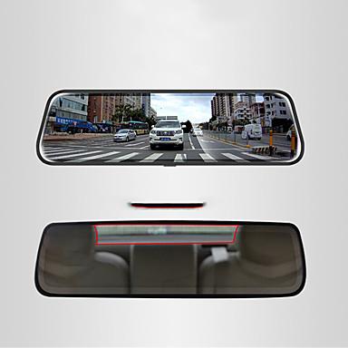 billige Bil-DVR-1080p Bil DVR 170 grader Bred vinkel 10 tommers IPS Dash Cam med Night Vision / Parkeringsmodus / Bevegelsessensor Bilopptaker
