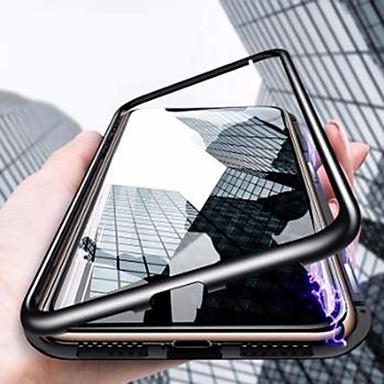 hesapli iPhone Kılıfları-Pouzdro Uyumluluk Apple iPhone XS / iPhone XR / iPhone XS Max Şoka Dayanıklı / Ultra İnce / Şeffaf Tam Kaplama Kılıf Solid Sert Temperli Cam