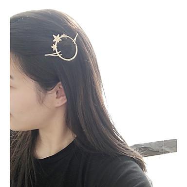 رخيصةأون مجوهرات الشعر-السيدات أزياء المرأة العصرية سبيكة الأساسية الصلبة