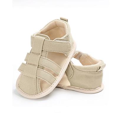 baratos Sapatos de Criança-Para Meninos / Para Meninas Lona Sandálias Criança (9m-4ys) Conforto / Primeiros Passos Caminhada Azul Escuro / Cinzento / Azul Real Verão