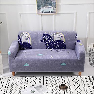 Surprising Pegasus Print Durable Soft High Stretch Slipcovers Sofa Ncnpc Chair Design For Home Ncnpcorg
