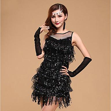 90dea6d0181d cheap Dancewear & Dance Shoes-Latin Dance Dresses Women's Training