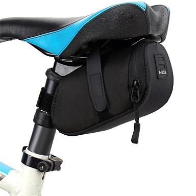 abordables Sacoches de Vélo-B-SOUL 0.5 L Sacoche de Selle de Vélo Etanche Portable Durable Sac de Vélo Térylène Sac de Cyclisme Sacoche de Vélo Cyclisme Vélo de Route Vélo tout terrain / VTT Extérieur