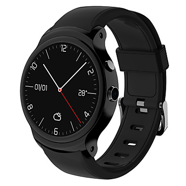 cheap Smartwatches-i3 Men Women Smartwatch Android iOS WIFI Bluetooth Waterproof Touch Screen GPS Heart Rate Monitor Blood Pressure Measurement Timer Stopwatch Pedometer Call Reminder Activity Tracker