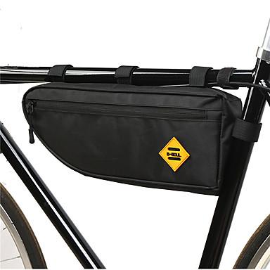 abordables Sacoches de Vélo-B-SOUL 2 L Sac Cadre Velo Portable Durable Sac de Vélo Tissu Oxford 300D Polyester Sac de Cyclisme Sacoche de Vélo Cyclisme Vélo de Route Vélo tout terrain / VTT Extérieur