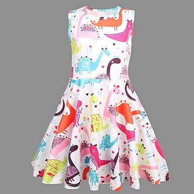 713f38279ca9 levne Dívčí šaty-Děti Dívčí Zvíře Šaty Duhová