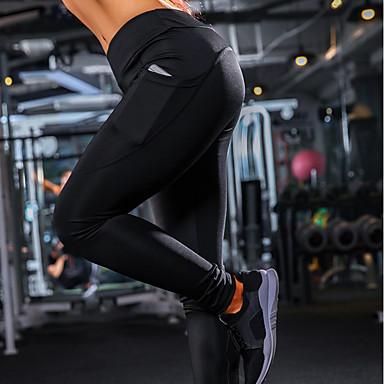 Naisten Joogahousut Urheilu Muoti Pyöräily Sukkahousut Leggingsit Juoksu Fitness Activewear Kosteuden siirtävä Elastinen Ohut