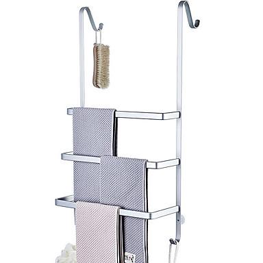 מתלה מגבת עיצוב חדש / מגניב מודרני אלומיניום 1pc מותקן על הקיר