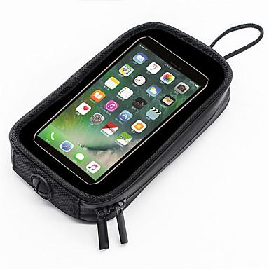 voordelige Auto-organizers-wosawe motorfiets mobiele navigatie tas motorfiets brandstoftank tas met magnetische telefoon tas